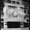 Shrine display over 7th Street door, J.W. Robinson Company, Los Angeles, CA, 1929