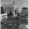 Hollywood Boulevard, Dr. Green, The Owl Drug Company, E.F. Hutton Company, Equitable Building, Bank of America
