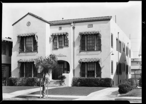 Installation at 1926 5th Avenue, Los Angeles, CA, 1931