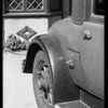 Scratch in rear fender, American Auto Insurance Co., Southern California, 1931