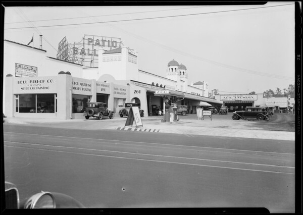 El Patio Auto Laundry, Los Angeles, CA, 1930