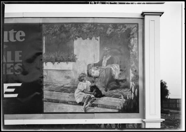 Lovejoy & Flintridge sings, Peerless Sign Co., Southern California, 1926