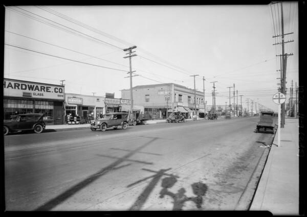 Road scenes at 59th & Moneta, Southern California, 1925