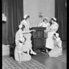 Radio at nurses home, California Lutheran Hospital, Southern California, 1930