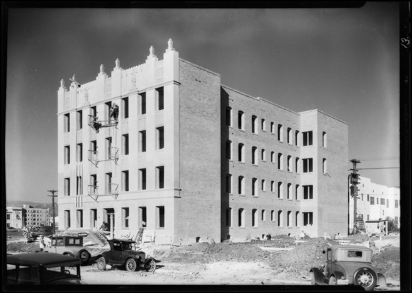 Buildings etc., with Pioneer products in use, Pioneer Paper Co., Southern California, 1930