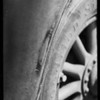 Scratch in rear fender, American Auto Insurance Co., Southern California, 1931