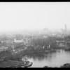 Views looking over Westlake park, Los Angeles, CA, 1931