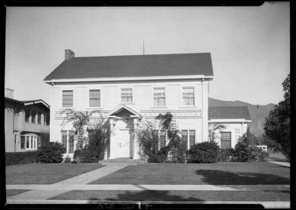 201 West Doran Street, Glendale, CA, 1925