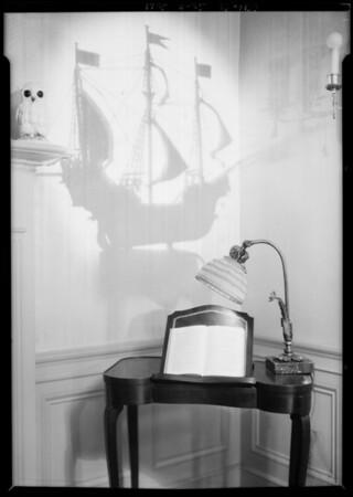 Towe & Pettibone lighting standards & fixtures, Southern California, 1925