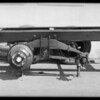 6 wheel chassis, Langlois Bros., Southern California, 1931
