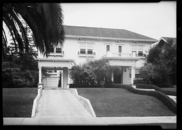 411 South Kingsley Drive, Los Angeles, CA, 1931