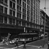 Photo taken from the corner of Second Street and Main Street in downtown Los Angeles, facing east on Second Street