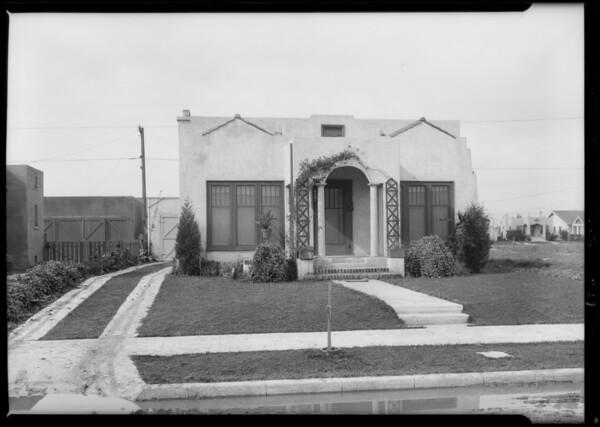 6207 5th Avenue, Los Angeles, CA, 1926