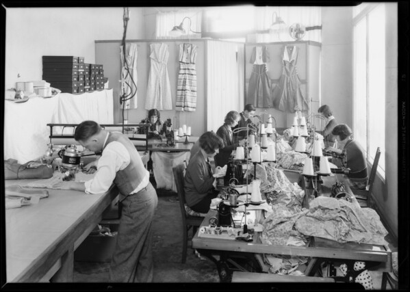 Jacinty Jean Manufacturing Co., The May Company, Los Angeles, CA, 1931