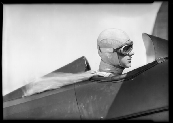 Kurtz - boy winner in junior speed races, Southern California, 1931