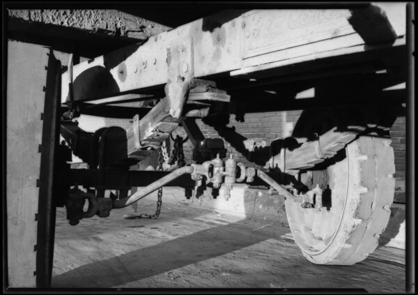 City transfer truck, Union Auto Insurance Co., Southern California, 1925