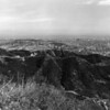 A panoramic [aerial] view of the Hollywood Hills area