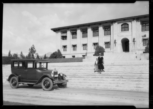 Chevrolet at Citrus Experiment-Station, University of California, Riverside, Riverside, CA, 1926