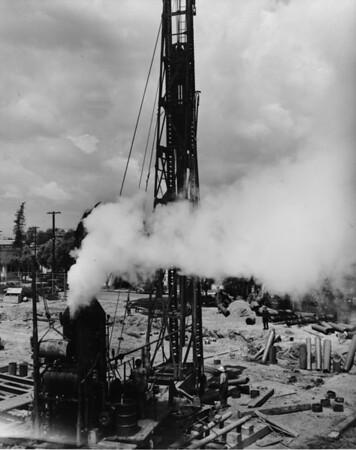 Oil rig, City Hall