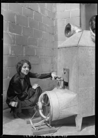 Lurkor & Burton furnaces, Southern California, 1927