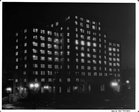 State Building at night