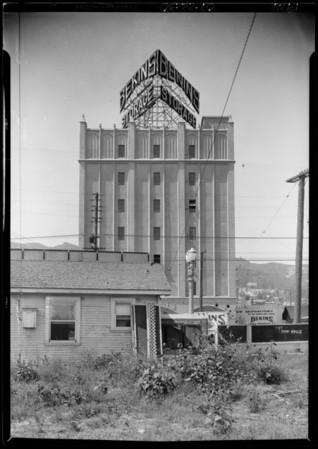 Bekins Storage electric sign, Southern California, 1926