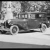 Chrysler car after repairs made, Southern California, 1932