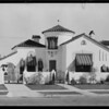 Homes on Poinsettia Place, Los Angeles, CA, 1931