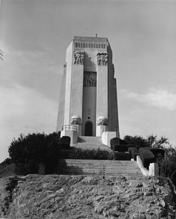 The Tower of Legends at the Forest Lawn Memorial Park