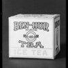 Box of Ben-Hur tea - 4 ounces, Southern California, 1931