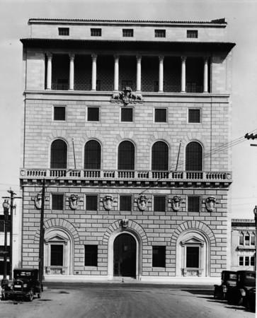 Facade of the Patriotic Hall