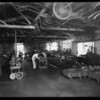Interior of factory, Southern California, 1931