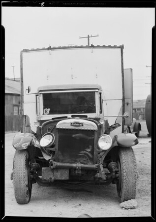 Truck, R.G. Knoll Co., Southern California, 1935