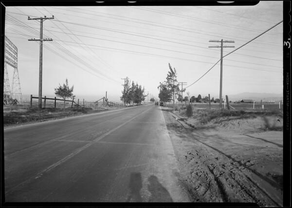 Telegraph Road at old Western Air Express, Southern California, 1930