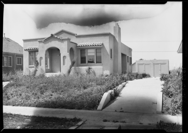 Auction at 2303 West 75th Street, Los Angeles, CA, 1927