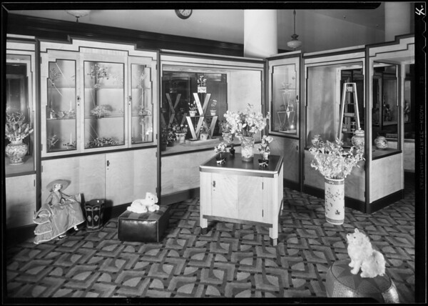 Store interior, May Co., Southern California, 1930