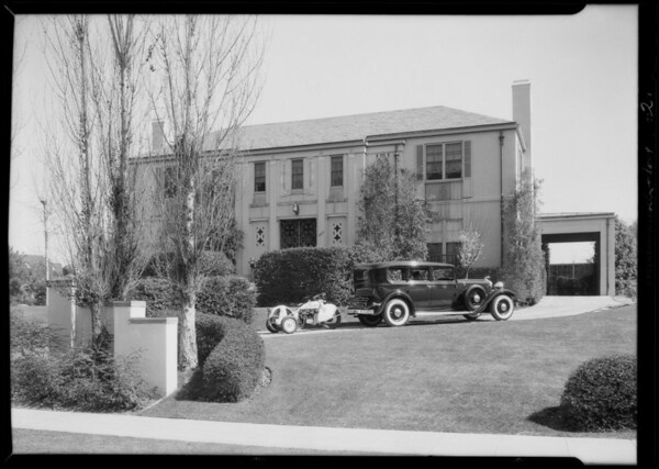 Ford service department and Lincoln, Southern California, 1932