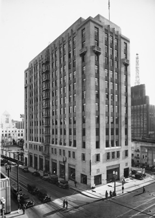 Architect's Building located on the corner of Figueroa Street and Fifth Street
