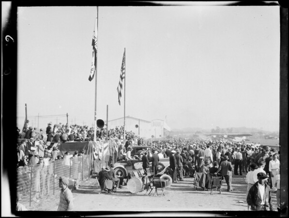 Opening of Grand Central Air Terminal, Glendale, CA, 1929