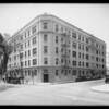 Asbury Apartments, Lido Apartments, for Arrowhead magazine, Mr. Carey, Los Angeles, CA, 1932