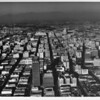 Downtown Los Angeles, Civic Center, Music Center, Bunker Hill, Dodger Stadium and Chinatown in background