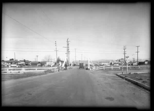 Wreck at Venice Boulevard and La Brea, Los Angeles, CA, 1931