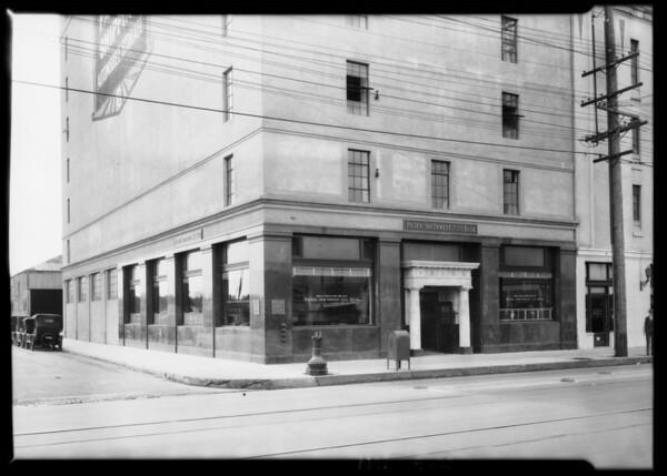 Pico & Normandie branch, Pacific-Southwest Bank, South Normandie Avenue & West Pico Boulevard, Los Angeles, CA, 1926