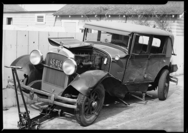 Hudson Brougham, Auto Club of Southern California, Southern California, 1931