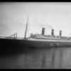Belgenland ship at San Pedro, Los Angeles, CA, 1926