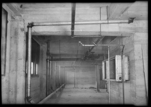 County Hospital installations (steam), Howe Bros., Los Angeles, CA, 1931
