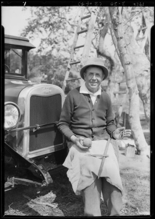 Chevrolet at Santa Monica Canyon, Los Angeles, CA, 1926