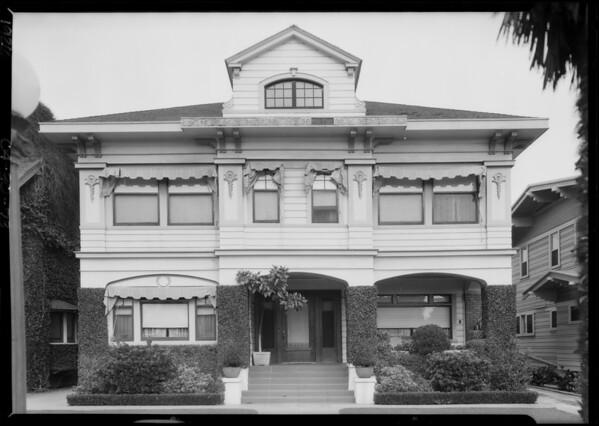 1742 Westmoreland Boulevard, Los Angeles, CA, 1926