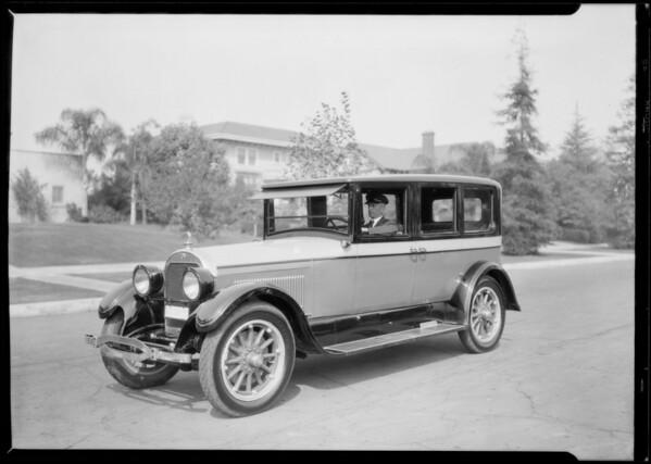 Jaffe & Jaffe, Tanner motor cars, Lafayette Park Place, Los Angeles, CA, 1926