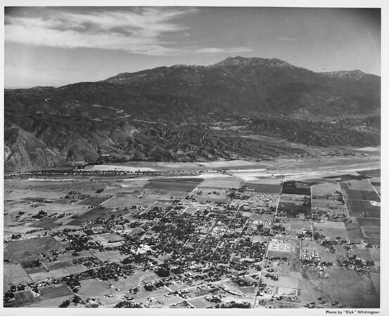 Aerial view, Indio, California